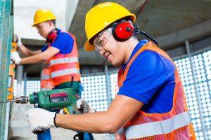 שמירה על האוזניים בעבודות עפר